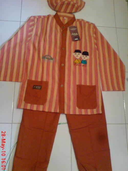 Baju muslim anak laki motif upinipin 022010 sarana Baju gamis anak laki murah